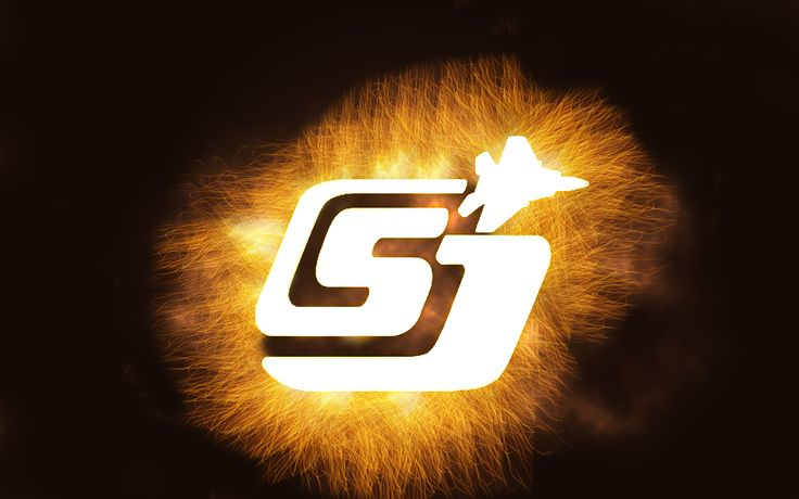 """This is a photoshop advert that I created for the Slough Jets. The Jets were on a huge winning streak and were as some would say """"On Fire"""". That inspired me to created this image of the logo that is in white (normally it is blue and red) and to have a grindstone effect around it."""