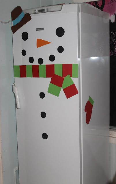 Luukku 2: Jääkaapista tuli lumiukko!