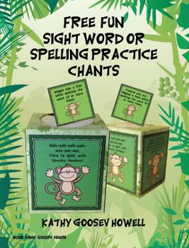 FREE Fun Sight Word or Spelling Practice Chants. They are a great way to practice any words! They work wonderfully when transitioning between work jobs, centers, or standing in line