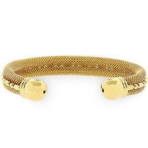 Gold-Tone Cable Fashion Bracelet J Goodin. $30.99