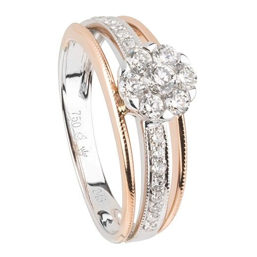 Bague diamants ( BD-R33549 )