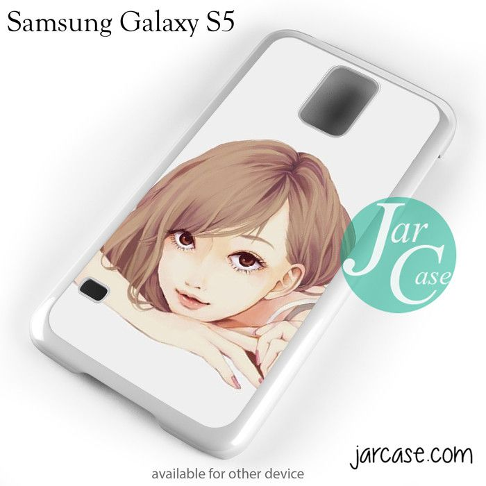 Anime Girl YP Phone case for samsung galaxy S3/S4/S5