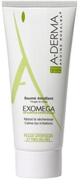 """""""Kemocreme"""" - A-Derma Exomega creme 400 ml. ca. kr. 270"""