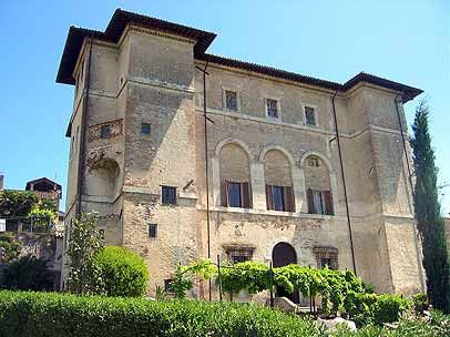 My friends Ettore's & Scott's Palazzo Farrattini, a bed & breakfast in Amelia, Italy.