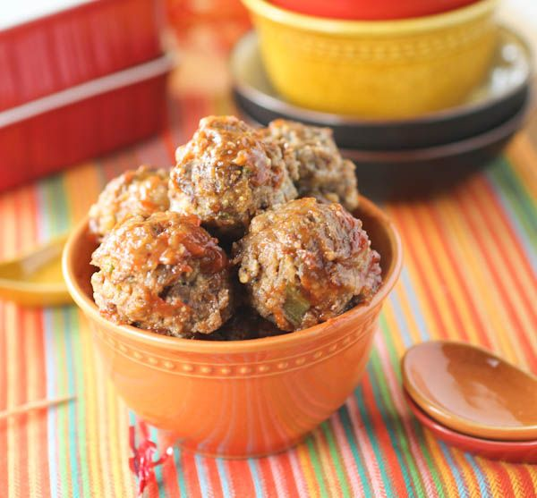 Slow Cooker Italian Meatballs (1) From: Citron Limette (2) Webpage has a convenient Pin It Button