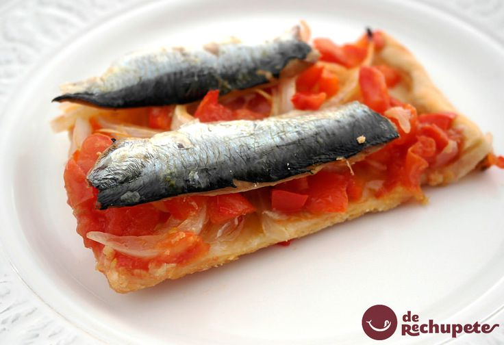 Coca de sardinas. Receta de San Juán - Recetasderechupete.com