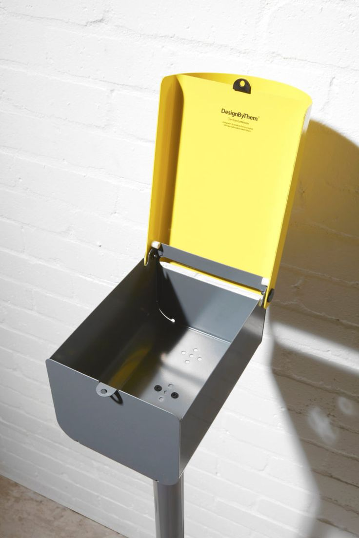 A Modern, Lockable Mailbox That Will Make Your House Pop