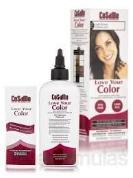 CoSaMo - Love Your Color Non Permanent Hair Color 755 Light Brown - 3 oz NEW PACKAGING Like Clairol , L'Oreal , Garnier , John Frieda , Nice n Easy , Revlon haircolor ... No PPD or No Ammonia ! Paraben FREE ! PPD FREE ! No Peroxide ! Peroxide Free !