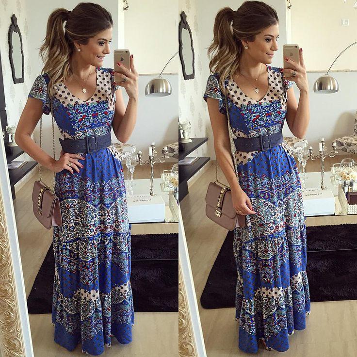 Vestido maravilhoso. Pra ir pra igreja