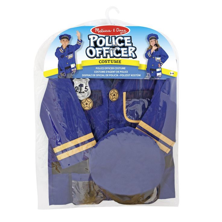 Melissa & Doug Costume d'officier de police-product