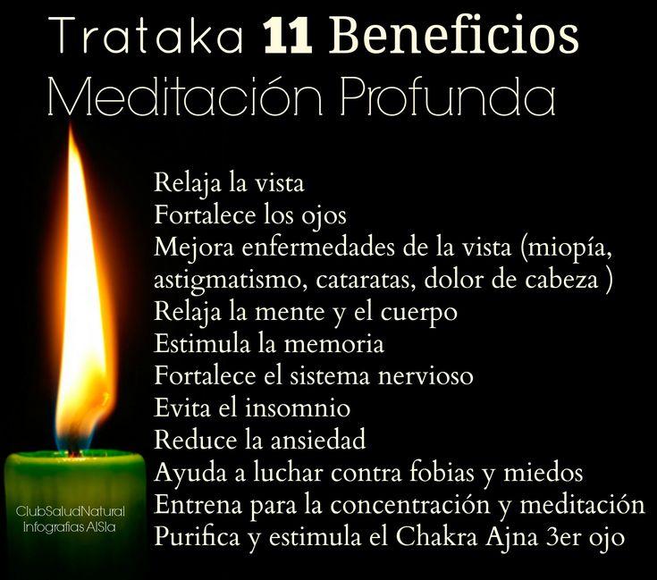 Trataka 11 Beneficios de la Meditación Profunda Mirando a una Vela - Club Salud Natural #meditación