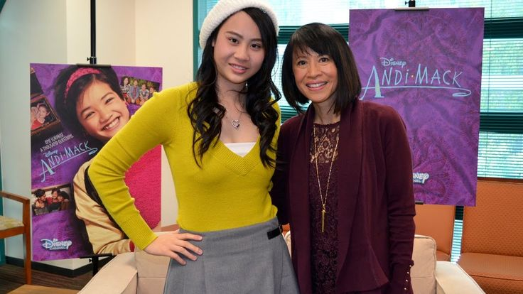 """Lauren Tom (""""Friends,"""" """"Joy Luck Club"""") plays tough-love Mom Celia on Disney Channel's latest show, """"Andi Mack."""" From the creator of Lizzie McGuire comes a show that stars a diverse cast that follows 13-year-old Andi as she navigates family secrets and adolescence."""