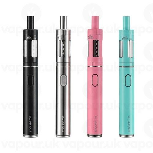 Check out the ENDURA T18 Complete Starter Vaping Kit with 1000mAh battery and 2ml e-liquid capacity! Suitable for new vapers or casual vaping!