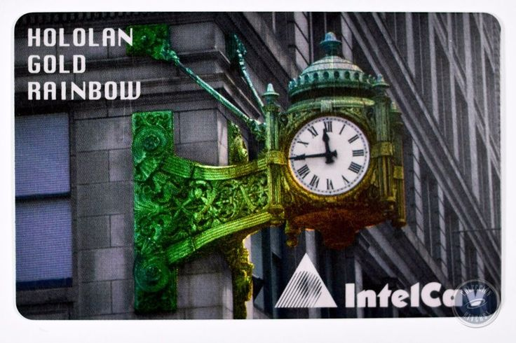 Work Test Card Intelcav Brasil Hololan Gold Rainbow