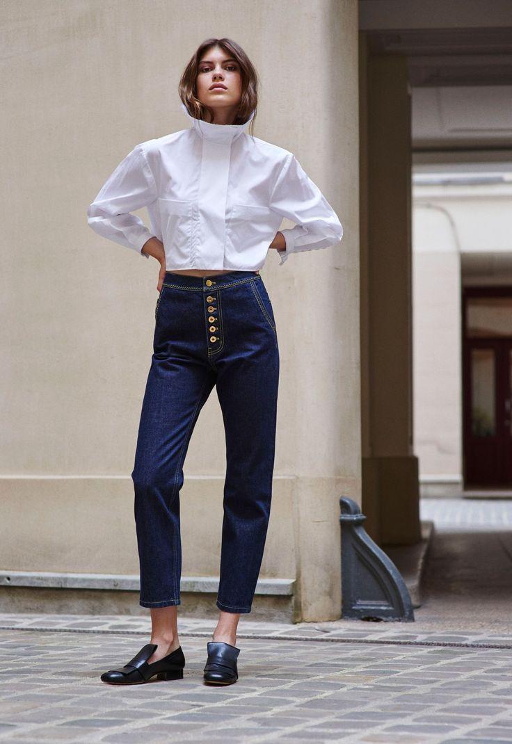 Your Favorite Bell-Bottom Designer Is Now Doing Denim. Fashion HacksCropped  ShirtWomen's JeansShortWhite ...