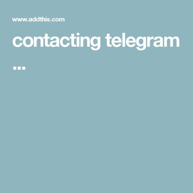 contacting telegram ...