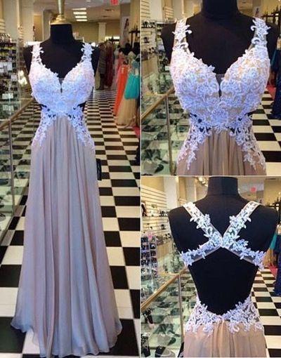 Sexy Long prom dress,Lace Prom Dress Long Evening Dresses Sleeveless Prom Dress Floor Length prom dress L037