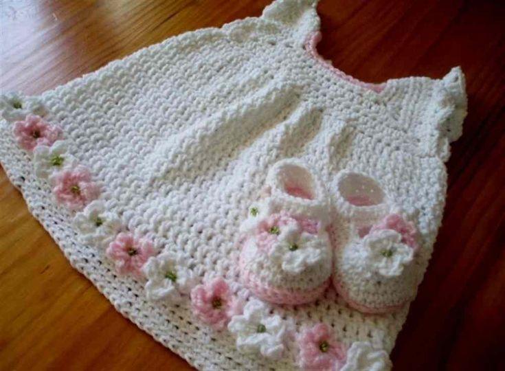 22 best Baby Dress Crochet Patterns images on Pinterest   Crochet ...