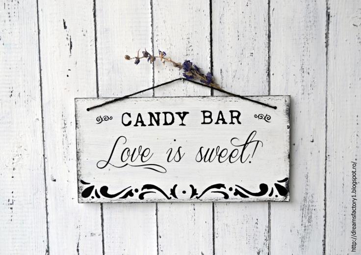 It's a (wedding) sign ~ Love is sweet ~ cu agatatoare de dreamsfactory Breslo