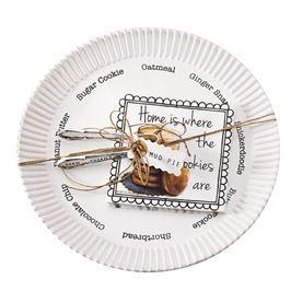 Mud Pie, Mudpie, Circa Cookie Plate Set