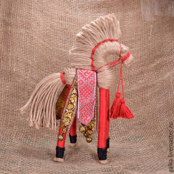 Купить Солнечный конь. Народная кукла - комбинированный, народная кукла, обережная кукла, подарок мужчине