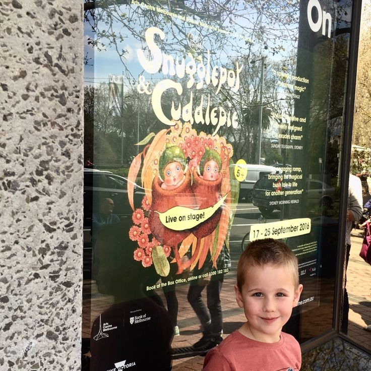 HOT: Snugglepot and Cuddlepie, Arts Centre Melbourne, 100 St Kilda Rd, Southbank http://tothotornot.com/2016/09/snugglepot-and-cuddlepie-arts-centre-melbourne/