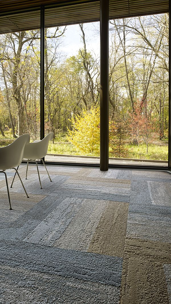 Interface | Modular Carpet Tile | Near & Far | NF401 Felt | NF401 Linen…