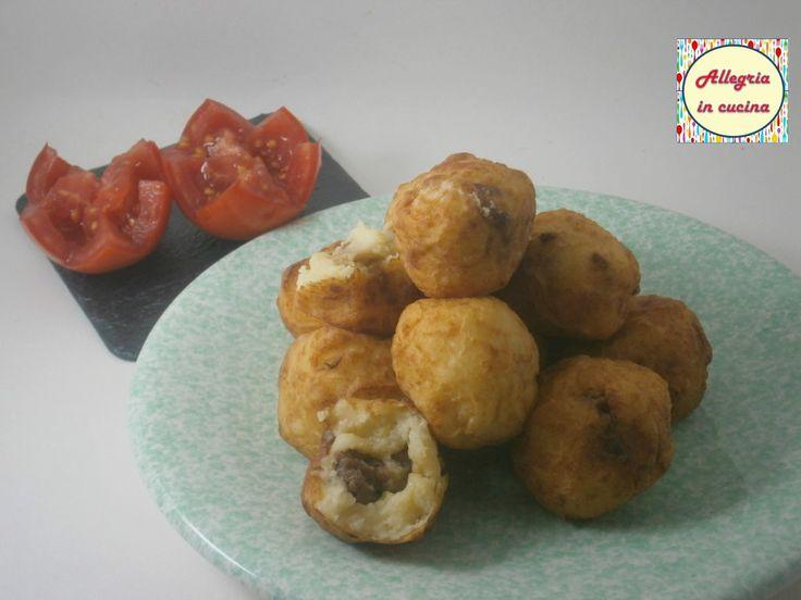 Crocchette di patate e salsiccia