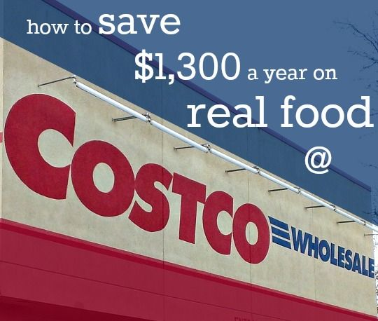 Saving Money on Real Food at Costco | Real Food Real Deals #healthy #shopping