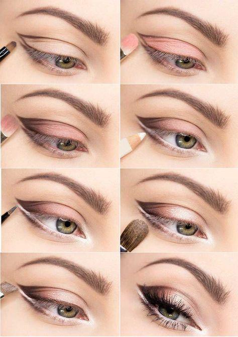 color suave para ojos más grandes - para ojos pequeños y oscuros - sombra rosa - Nadine Blog - #Color #grandes #Nadine #oscuros #peque #sombra #suave