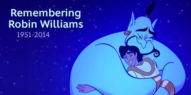 Remembering Robin Williams. RIP!