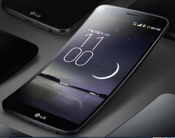 Lg G Flex lo smartphone flessibile della casa coreana