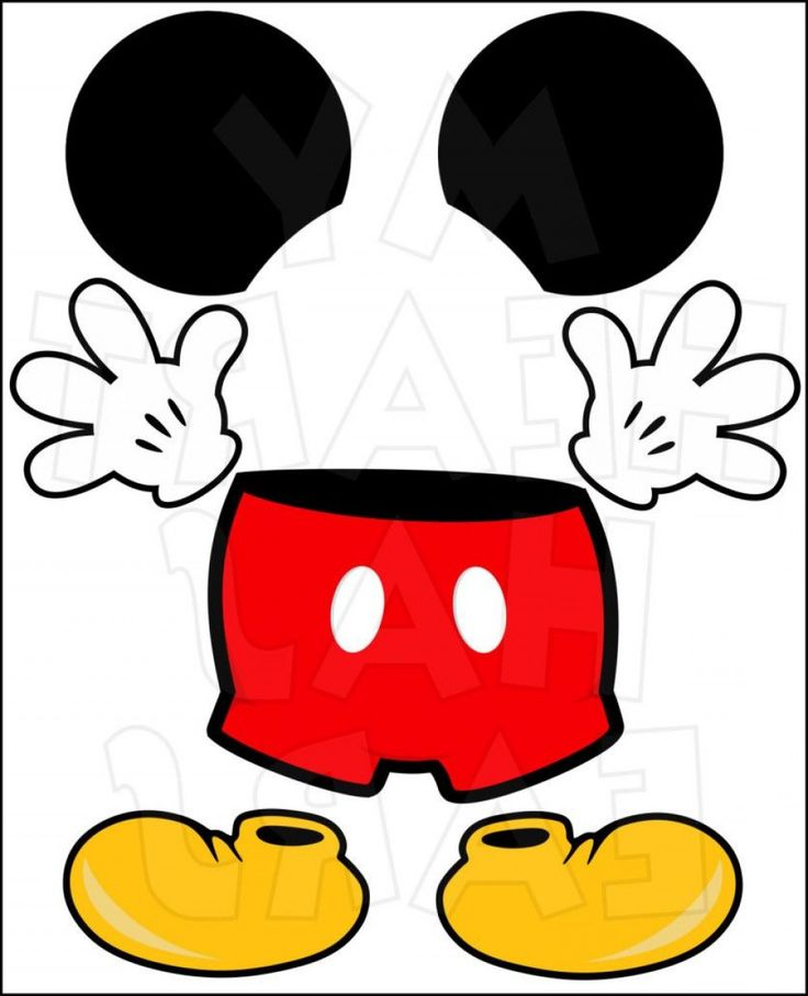 Provided That Mickey Mouse Template Ears Printable ...