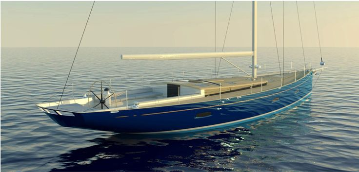 A 55' from Hoek Design and Metur Yacht
