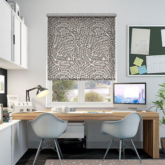 Choices Artemis Doeskin Brown Roller Blind from Blinds 2go