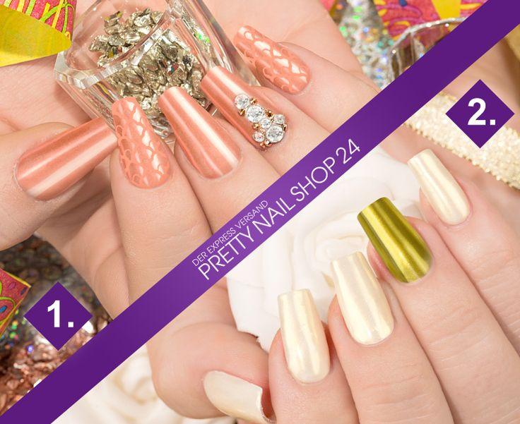 #new   #year   #nails   #nailart   Das neue Jahr hat begonnen. Ein guter Grund, die Nägel richtig heraus zu putzen. Welche Variante wäre Euer Favorit? Eure Juliane