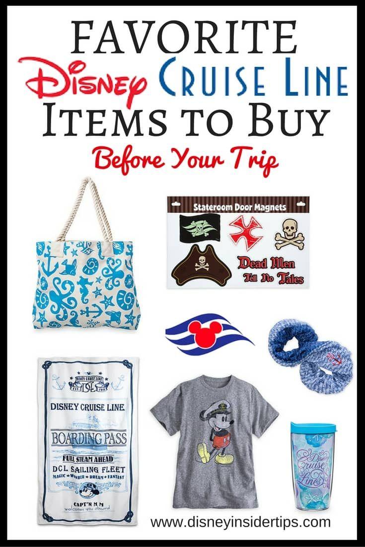 Favorite Disney Cruise Line Items