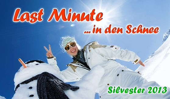 Skiing, Snowboard. Last Minute an Silvester in den Skiurlaub