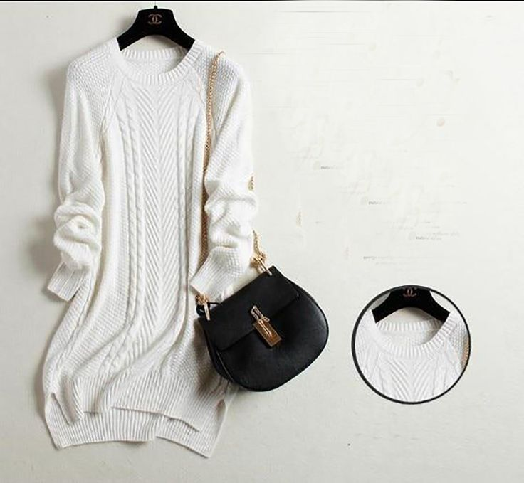 Women's Sweater Cashmere Basic Plus Size Long Slim O-neck Women's Sweater Cashmere Basic Plus Size Long Slim O-neck 2