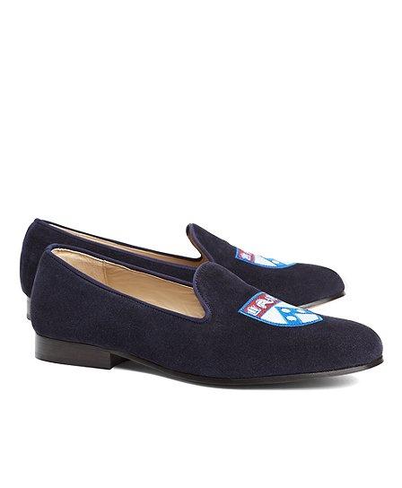 JP Crickets University of Pennsylvania Shoes Blue