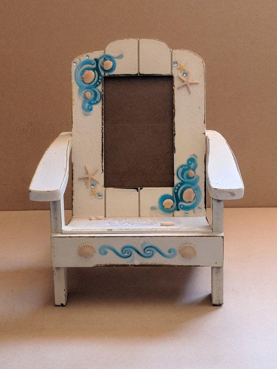 beach chair photo frame office for standing desk shellbysscrapstation pinterest