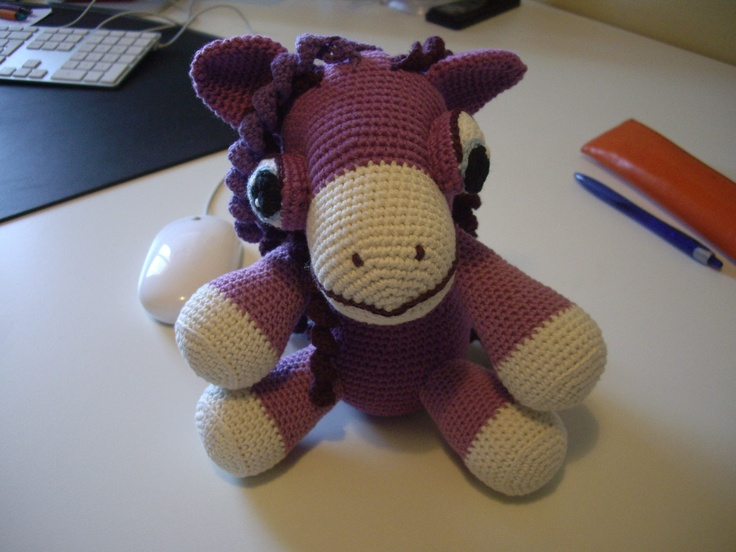 Amigurumi / craft / ponny / crochet