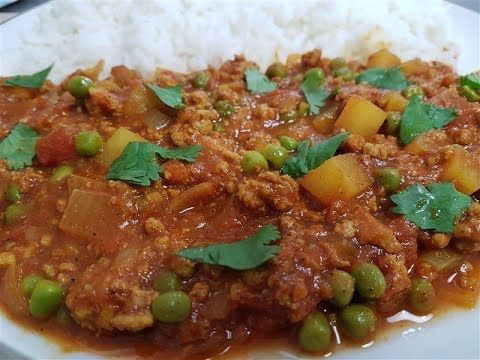 294 best recipes english images on pinterest caipirinha indian lamb minced in curry keema recipe forumfinder Choice Image