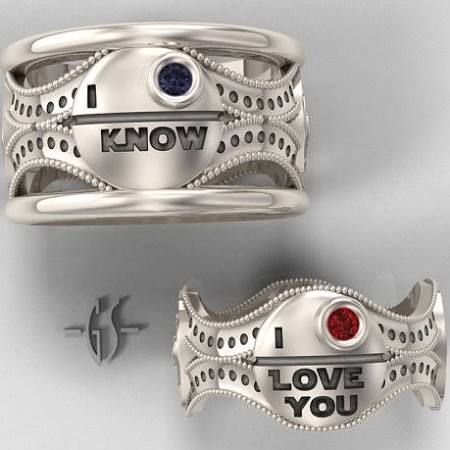 12 best star wars engagement rings images on Pinterest ...