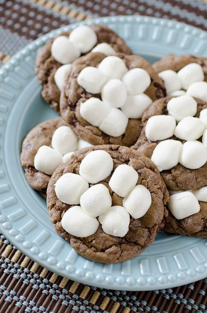 Hot Chocolate Cookies by Pennies on a Platter, via Flickr