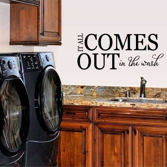 Best Laundry Room Vinyl Images On Pinterest Laundry Room The - Custom vinyl wall decals sayings for laundry room