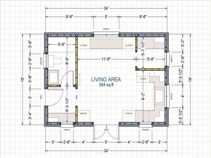 Image Result For 16 X 24 Cabin Floor Plans Florida Pool