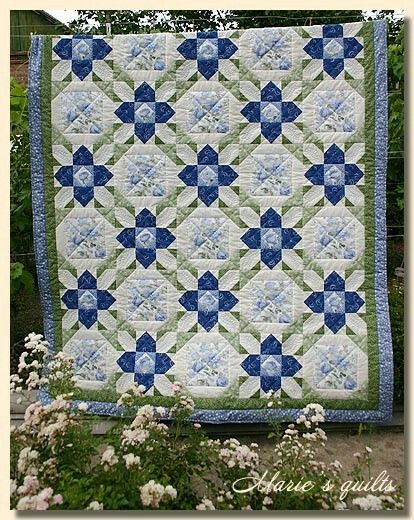 Prarie flower quilt