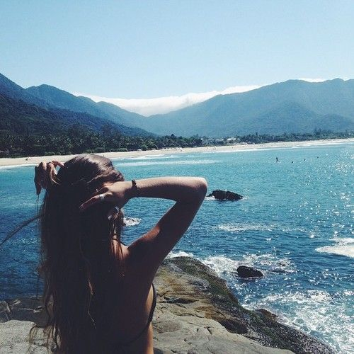 positive view // #beachbum #planetblue