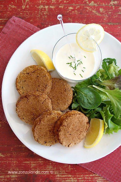 Burger di tonno in scatola - Tuna burger   From Zonzolando.com